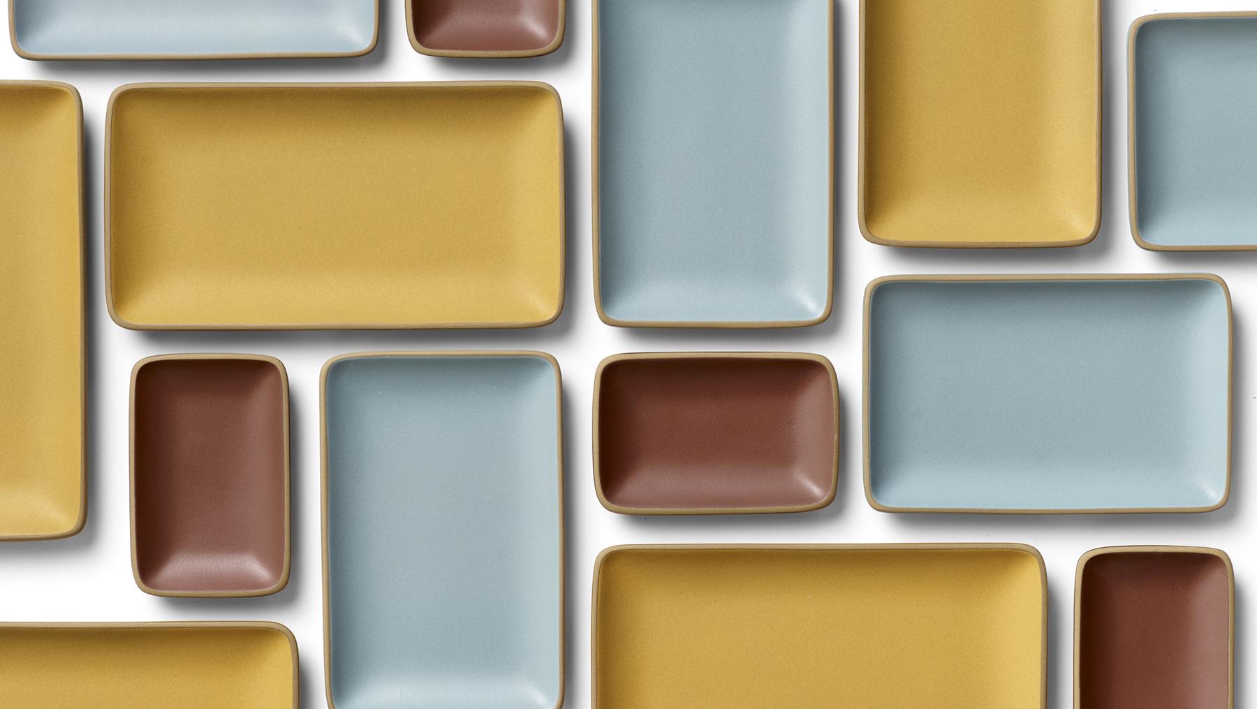 Heath Ceramics Circuit Board Computer Brown Gold Copper Tie Clipsilvergift Boxusa Winters Palette